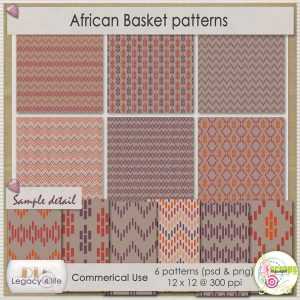 African Basket Patterns