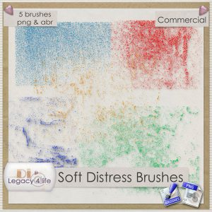 Soft Distress Brushes