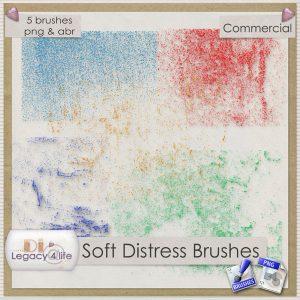 Soft Distress Brushes