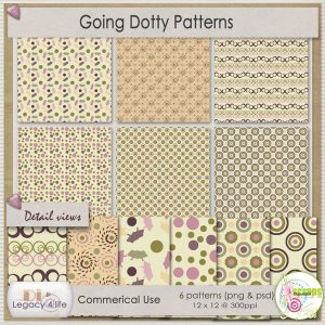 Going Dotty Patterns